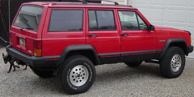 Red Jeep Club Lifted Red Jeep Pictures Bumper Hoop Grille Guards 4x4